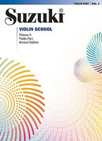 Suzuki Violin School Violin Part, Volume 3 (Revised) for Violin, Series of Suzuki Violin School, Publisher Summy Birchard