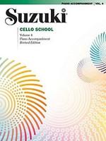 Suzuki Cello School Piano Acc., Volume 4 (Revised) for Cello and Piano, Series of Suzuki Cello School, Publisher Summy Birchard