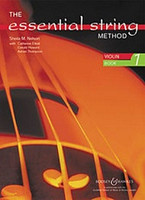 The Essential String Method, by Sheila Mary Nelson, for Violin, Series The Essential String Method, Publisher Boosey & Hawkes