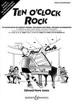 Ten O'Clock Rock, by Edward Huws Jones, for Cello, Violin&Piano, Publisher Boosey & Hawkes