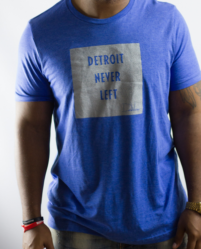 Detroit Never Left™ Tee – Lions