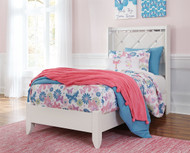 Dreamur Champagne Twin Panel Bed