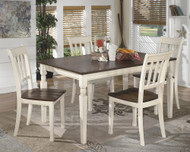 Whitesburg 5 Pc. Rectangular Dining Room Table & 4 Side Chairs