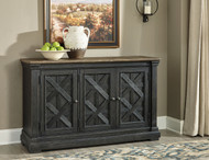 Tyler Creek Black/Gray Dining Room Server