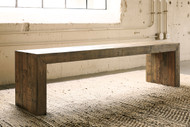 Sommerford Brown Large Dining Room Bench
