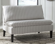 Arrowrock White/Gray Accent Bench