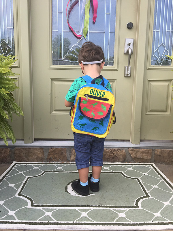diy backpack back to school