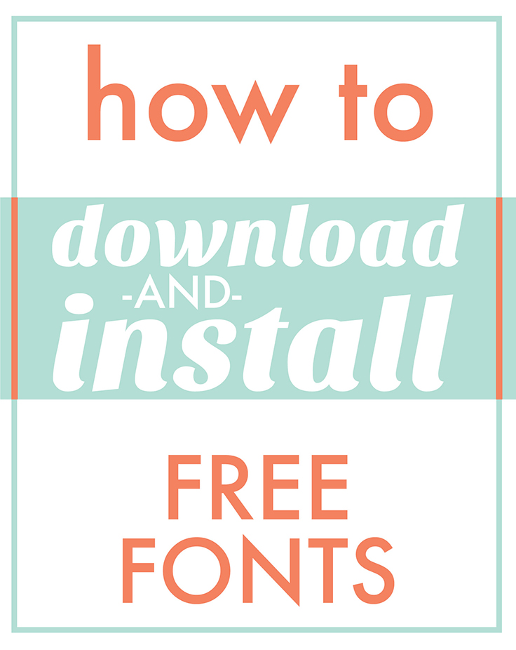 Download Download Fonts for Cricut and Silhouette | Craftables