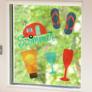 Silhouette Window Cling - Clear