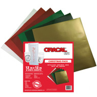 Oracal 651 Christmas Pack Vinyl Sheets
