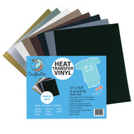 Craftables Heat Transfer Vinyl Neutral Pack Sheets