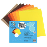 Craftables Heat Transfer Vinyl Fall Pack Sheets