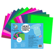 Craftables Heat Transfer Vinyl Girls Pack Sheets