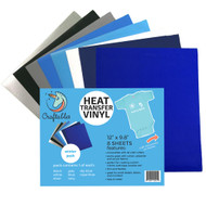 Craftables Heat Transfer Vinyl Winter Pack Sheets