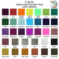 glitter color swatch