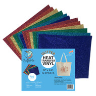 Craftables Glitter Heat Transfer Viny Jewel Pack
