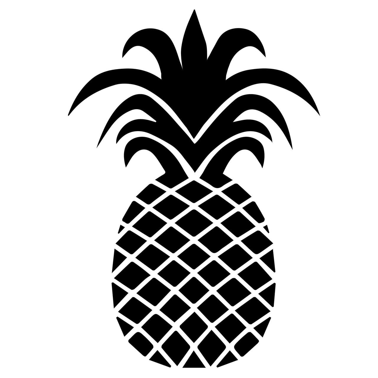 Pineapple SVG Cut Files | Craftables