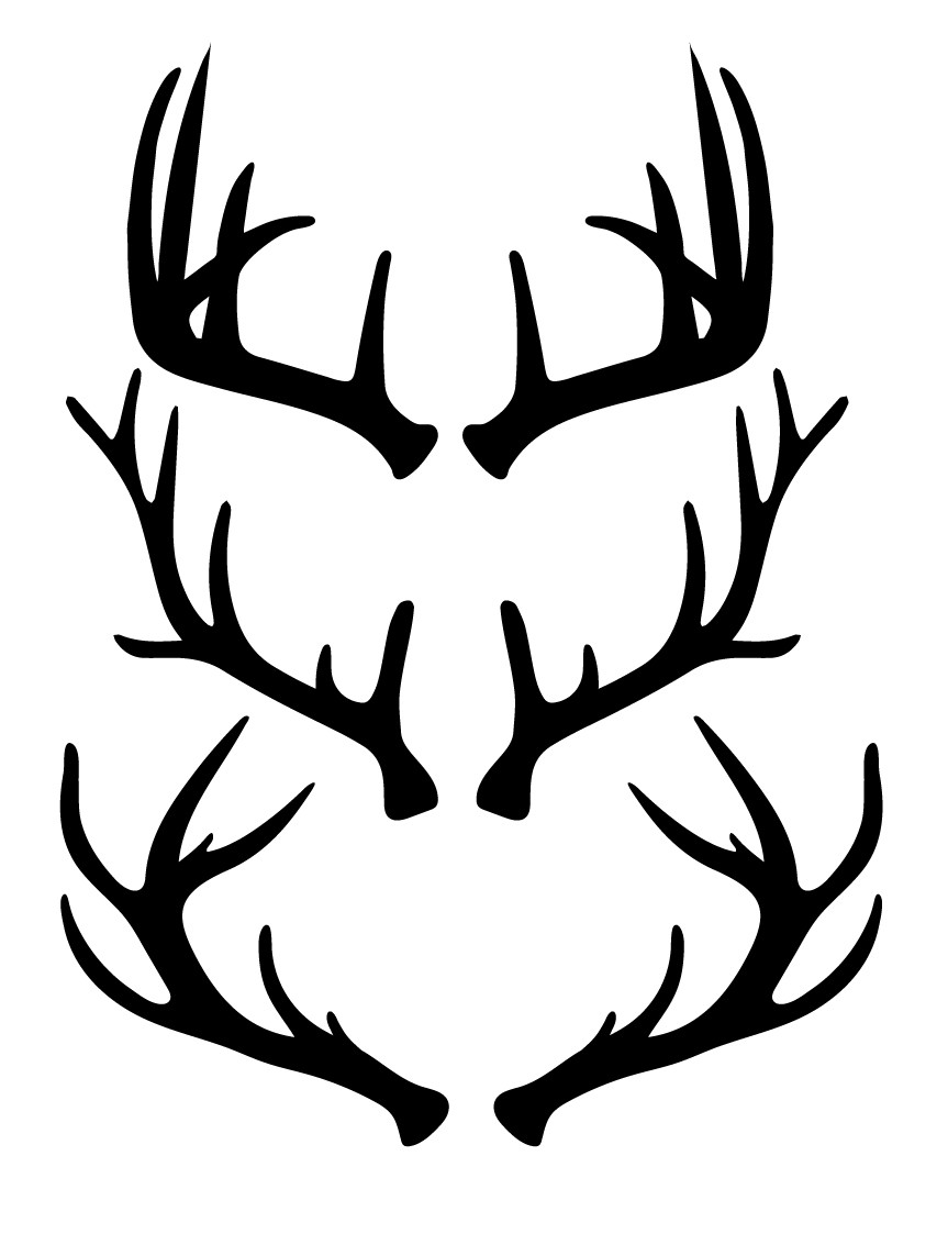 free antlers svg cut files craftables reindeer antlers headband clipart reindeer antlers headband clipart