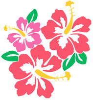 Free Hibiscus SVG Cut Files