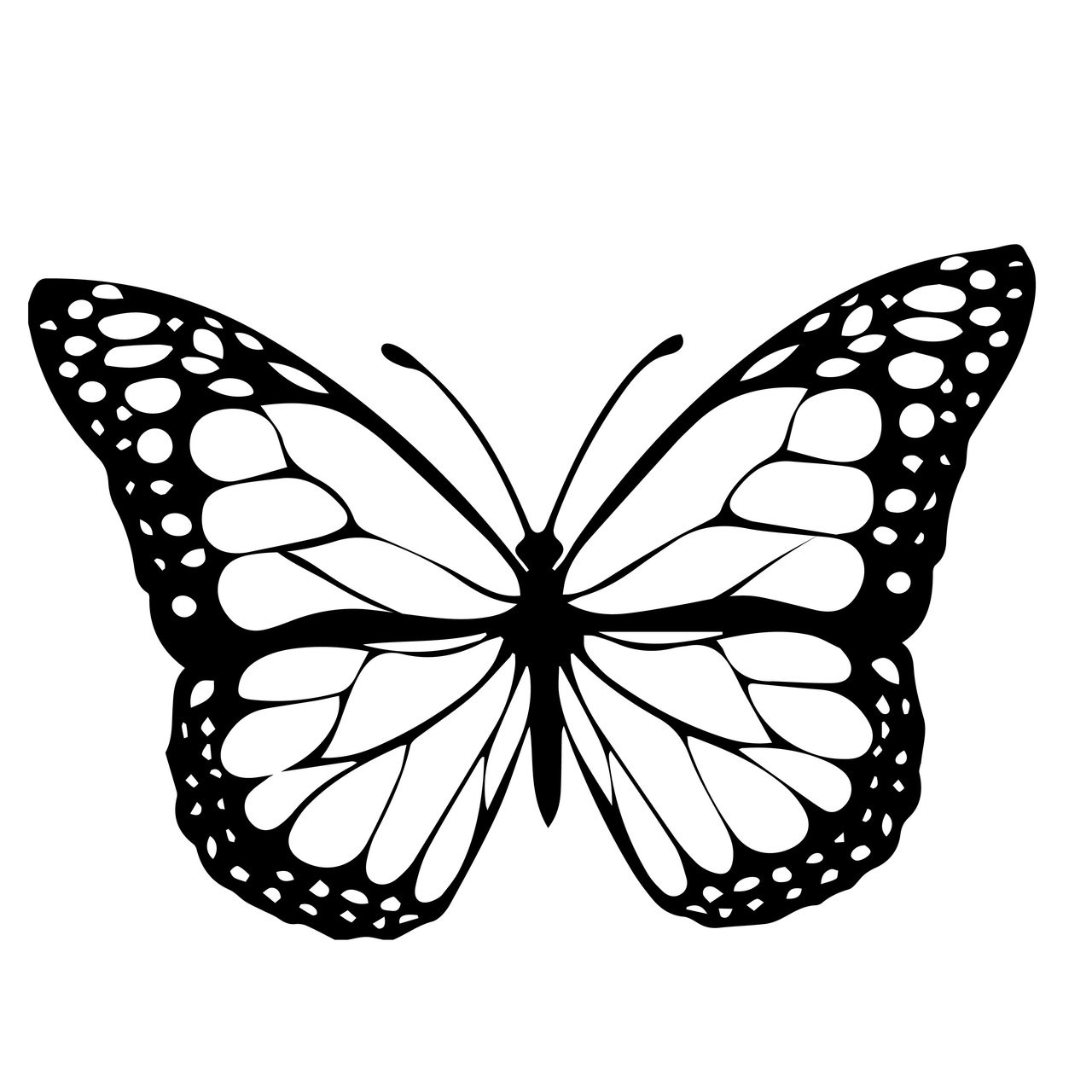 free butterfly svg cut file craftables