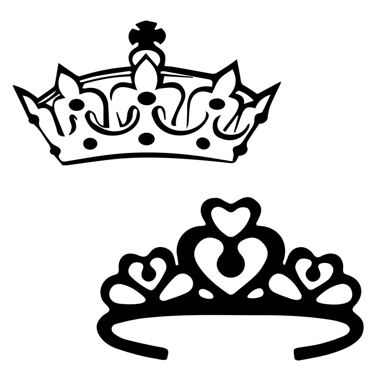 Free Crown Svg Cut File Craftables