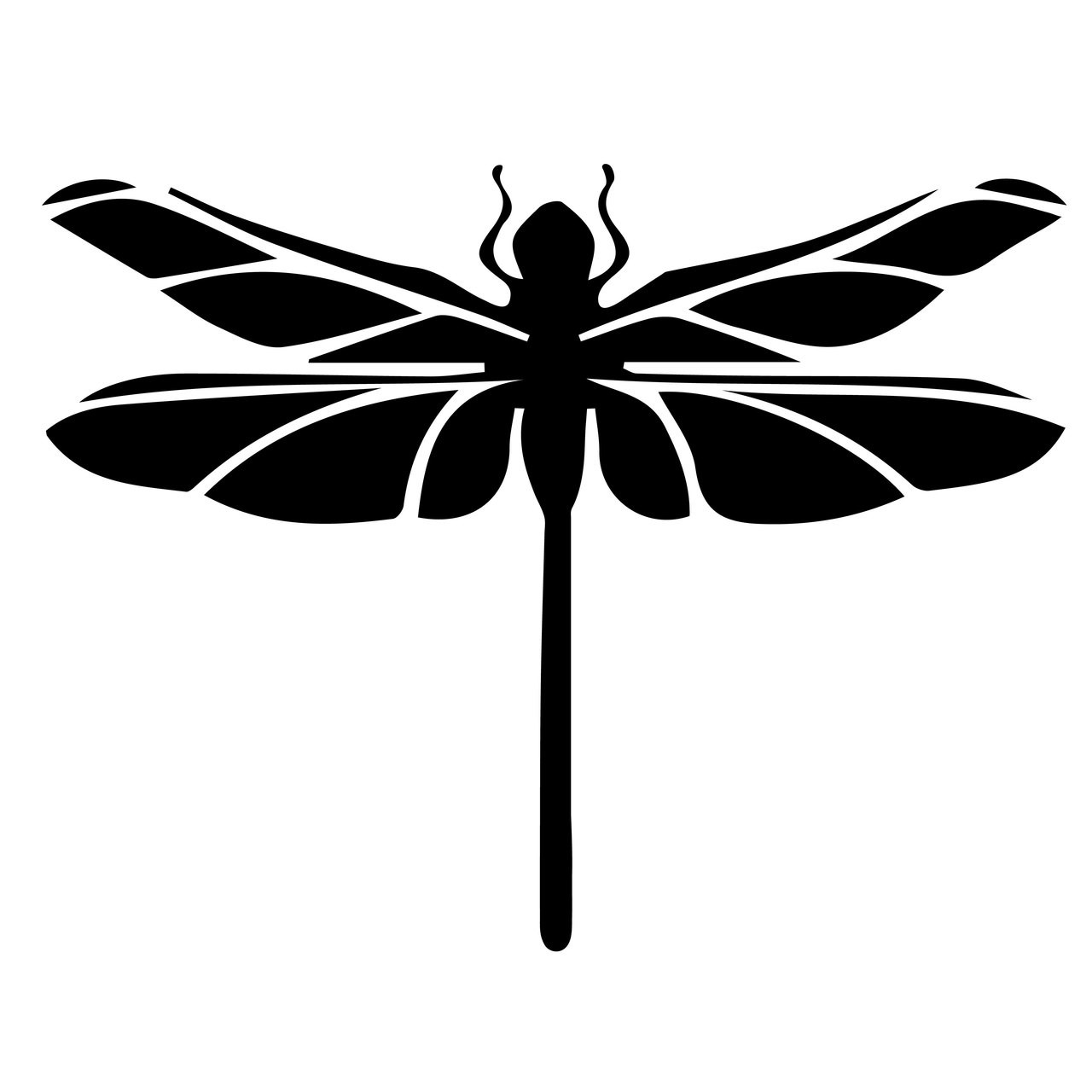 Free Dragonfly Svg Cut File Craftables