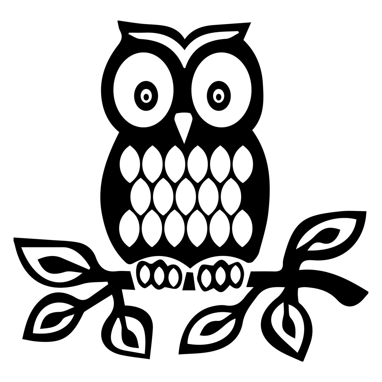 Free Owl Svg Cut File Craftables