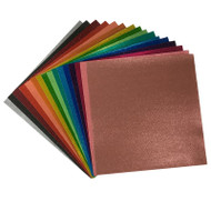 Craftables Glitter Adhesive Vinyl Sheets By Color - 1, 5, 10, 25, or 50 Packs