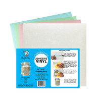 Craftables Etched Glass Complete Pack - (4) 12in x 12in sheets