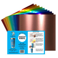 "Craftables Metallic Vinyl Starter Pack - (10) 12"" x 12"" Sheets"
