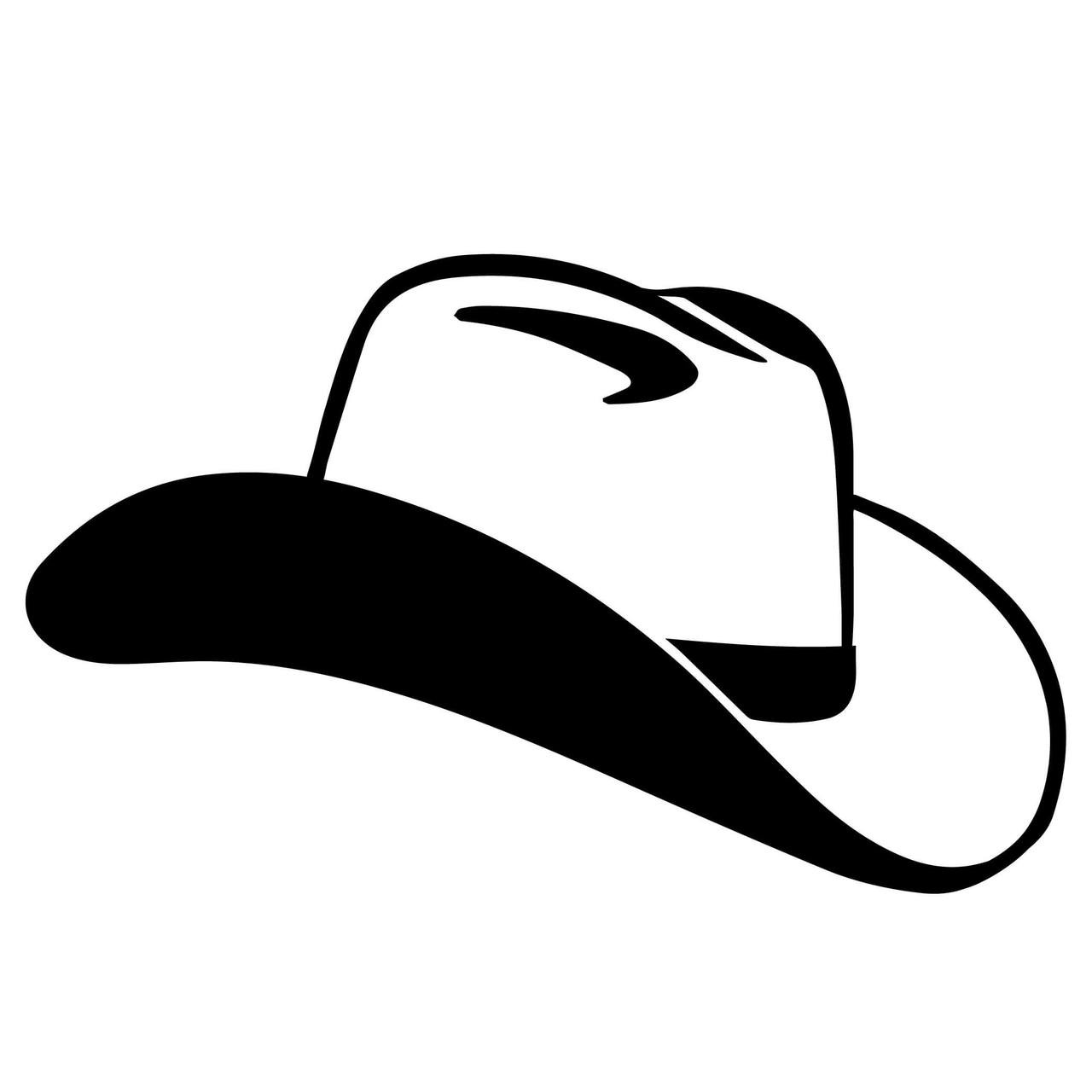 Free Cowboy Hat Svg Cut File Craftables