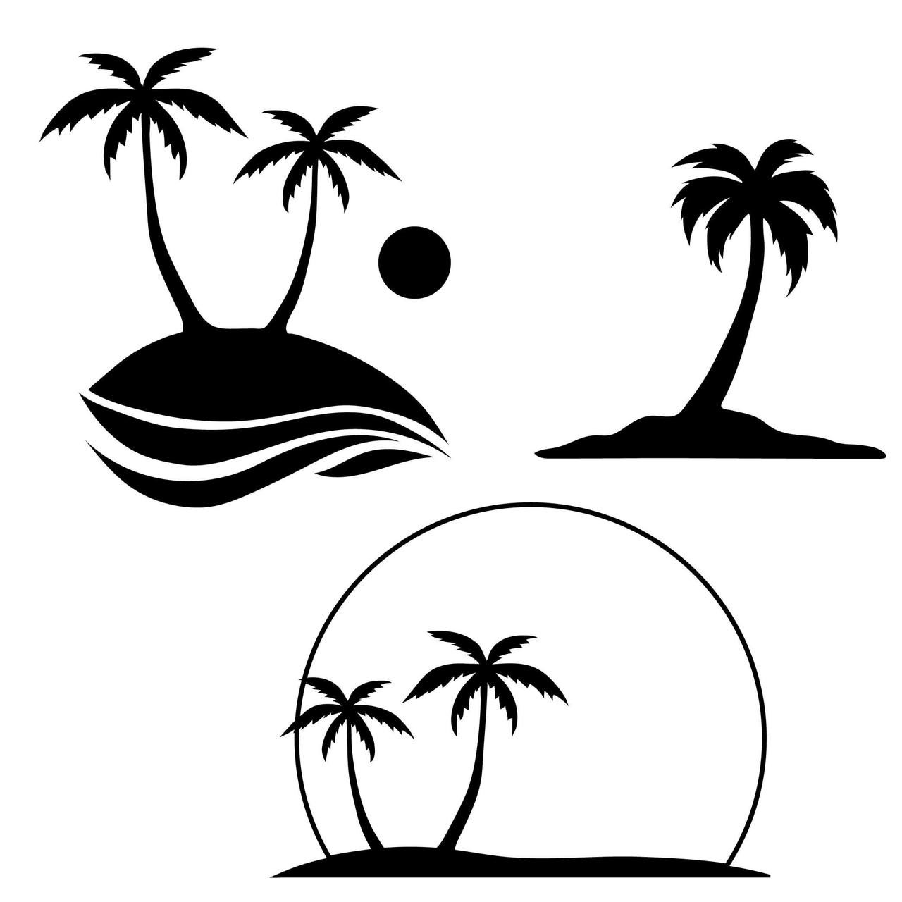 Free Palm Tree Svg Cut File Craftables