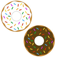 Free Donut  SVG Cut File