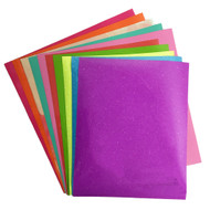 Craftables Summer Grab Bag - (10) Sheets of Craftables Adhesive , HTV, and Oracal 651