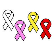 Free Cancer Ribbon SVG Cut File
