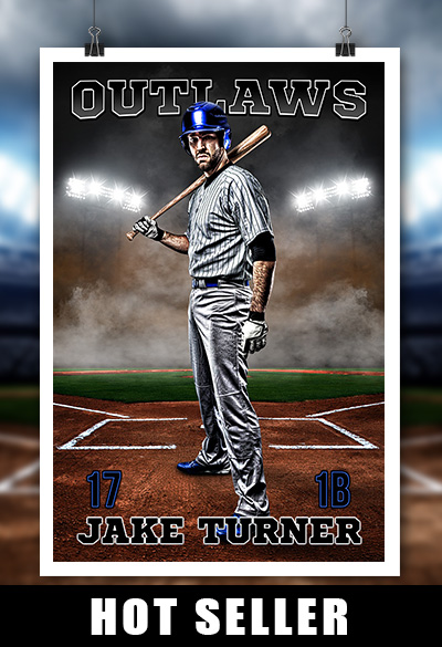 Hot Selling Sports Template For Baseball