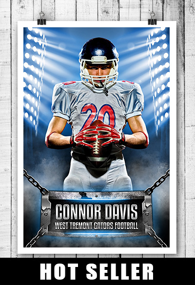 Hot Selling Sports Template For Football