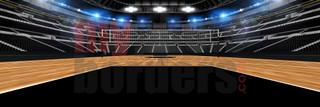 DIGITAL BACKGROUND - VOLLEYBALL STADIUM II - PANORAMIC