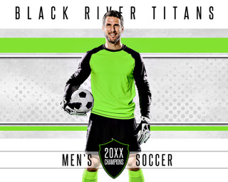 MULTI-SPORT POSTER - TITANS - PHOTOSHOP LAYERED SPORTS TEMPLATE