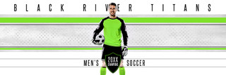 PANORAMIC SPORTS BANNER TEMPLATE - TITANS - PHOTOSHOP LAYERED SPORTS TEMPLATE