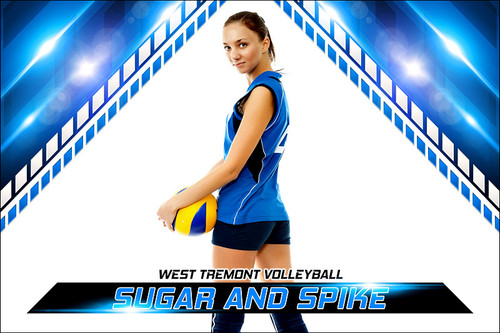 Player & Team Banner Sports Photo Template - Slope - Photoshop ...