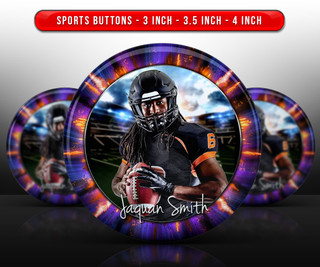 SPORTS PHOTO BUTTON TEMPLATES - EXPLODE