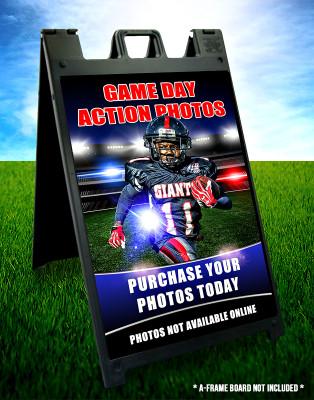 Photography Marketing Display - 24x36 Sports Stadium