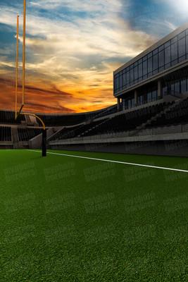 DIGITAL BACKGROUND - HOME FIELD - FOOTBALL II