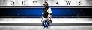 PANORAMIC SPORTS BANNER TEMPLATE - GRUNGE SPORT - PHOTOSHOP LAYERED SPORTS TEMPLATE