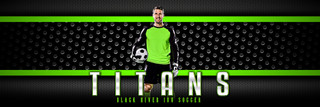PANORAMIC SPORTS BANNER TEMPLATE - BOLD - PHOTOSHOP LAYERED SPORTS TEMPLATE