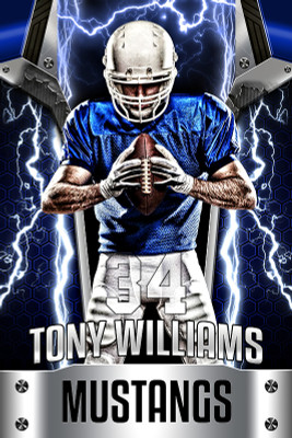 PLAYER BANNER PHOTO TEMPLATE - HIGH VOLTAGE METAL