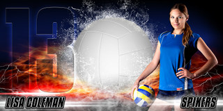 10X20 PHOTO TEMPLATE - SPLASH VOLLEYBALL