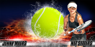 10X20 PHOTO TEMPLATE - SPLASH TENNIS