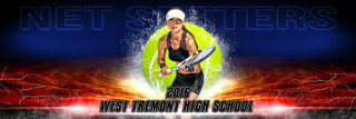 PANORAMIC SPORTS BANNER TEMPLATE - SPLASH TENNIS